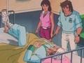 Ahisa Tatsuo approaching Tiger Mask II 16th episode Hassan