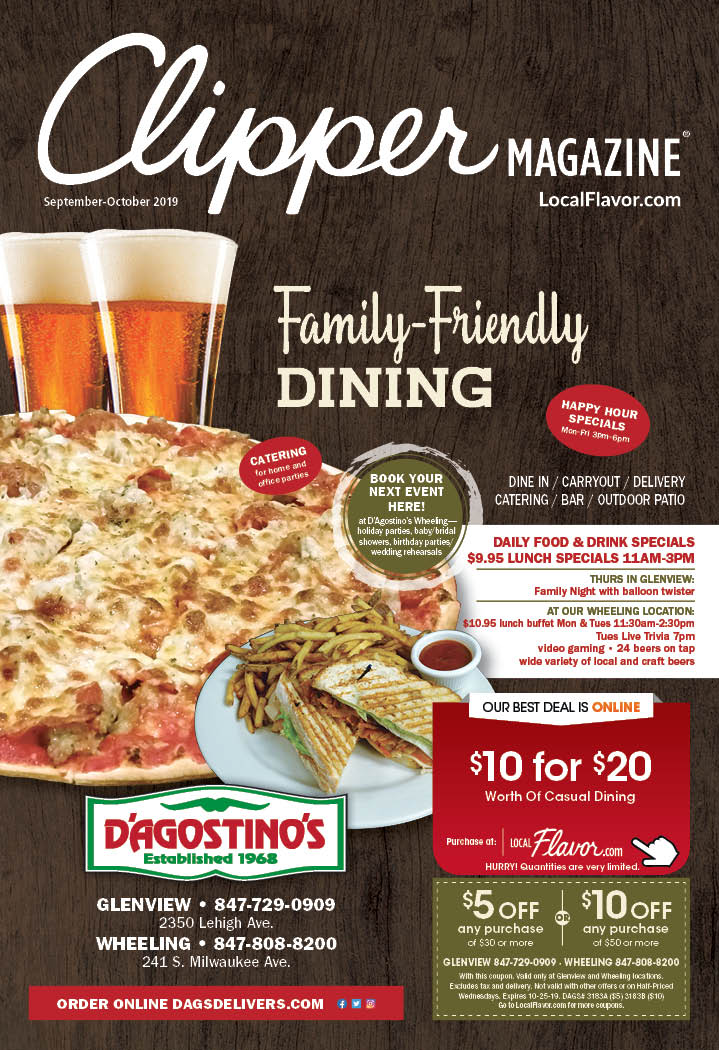 LocalFlavor.com - D'agostino's Pizza and Pub - Glenview - $10 For $20 Worth Of Casual Dining Coupons
