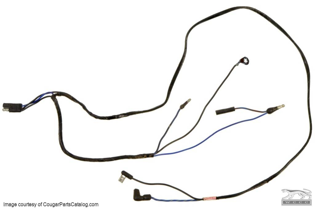 wiring harness main console used 1969 mercury cougar 1969