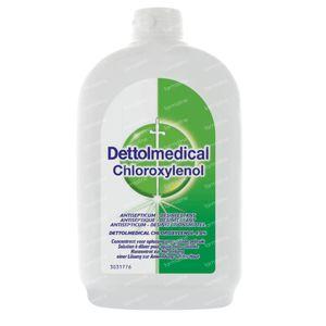 Dettol Medical Chloroxylenol 48 mg/g - Huidontsmettingsmiddel 500 ml hier online bestellen | FARMALINE.be