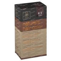 Apivita Natures Hair Color N6.3 Walnut 1 item order online.