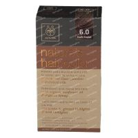 Apivita Natures Hair Color N6.0 Dark Blond 1 item order ...