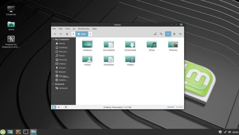 Linux Mint 20 Ulyssa Cinnamon / MATE  Editions