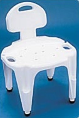 carex shower chair hip chairs sale independence medical b65600 mckesson surgical 683404