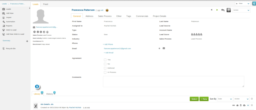 Web to Lead multiple document upload9