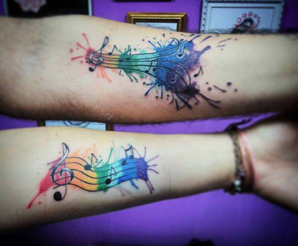 Tatuajes Profesionales Acuarela Tattoo Watercolor Tattoo 2016 08