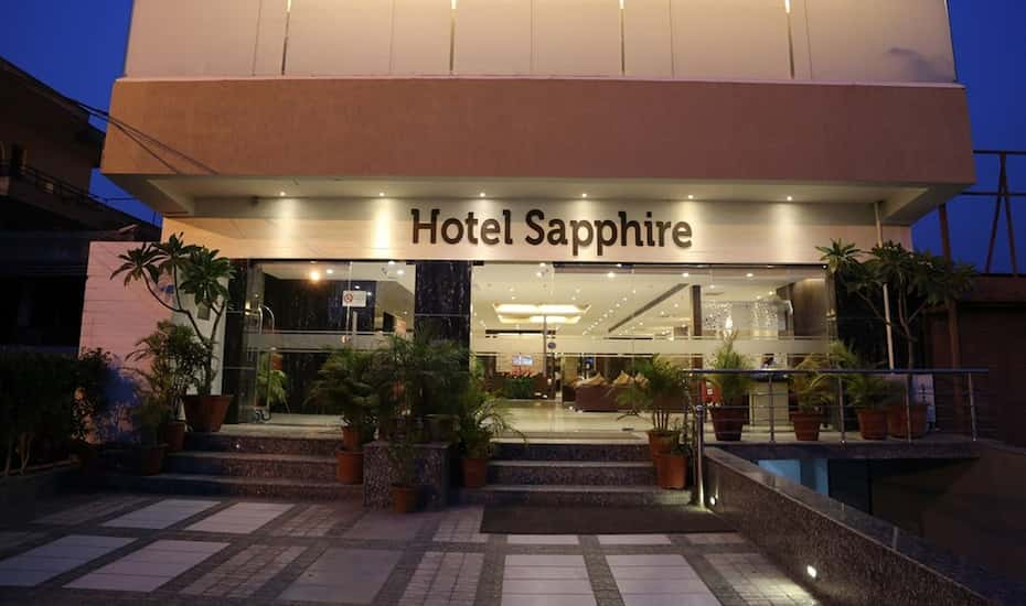Hotel Sapphire Chandigarh Book This Hotel At The Best