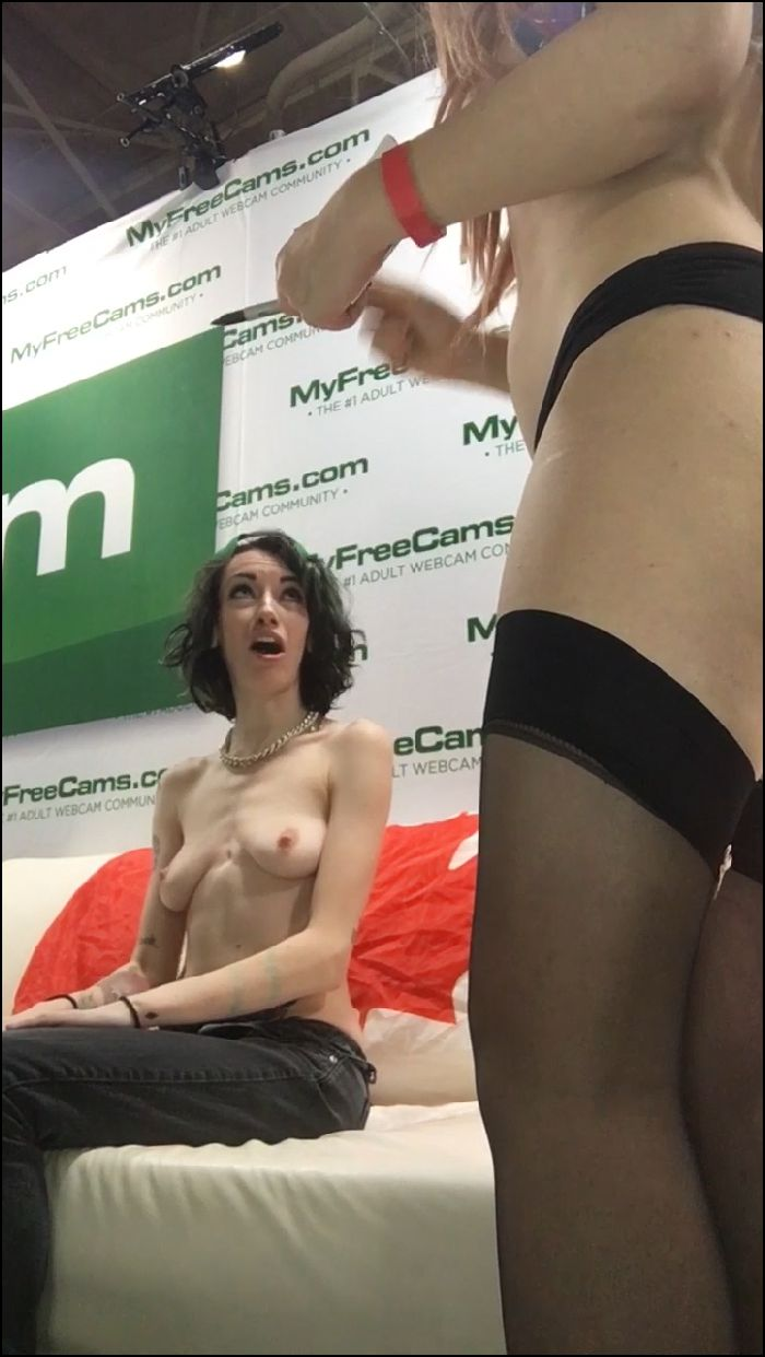Ryland BabyLove – Public BJ on Lara Loxley at Toronto Expo (ManyVids)