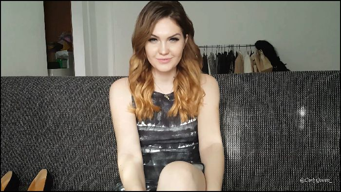 CarlyQueen Jerk for me with your wifes shoes (iwantclips)