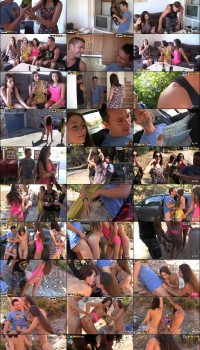 Agnessa, Carla, Leila – Real Sex Party On The Sunny Beach (Part 1) (CollegeFuckParties.com/WTFPass.com/2019/SD)