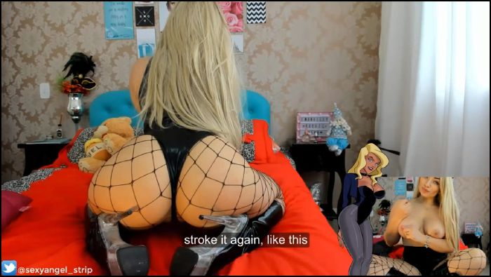 pinupbaby – black canary jerk off instructions (manyvids)