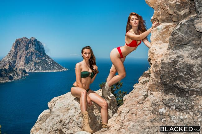 Jia Lissa, Stacy Cruz – Best Friends Share (Blacked 2019 HD)