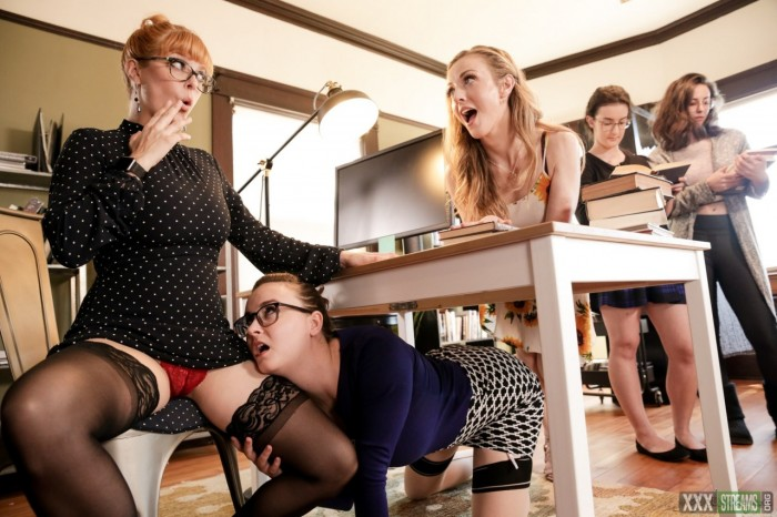 [Girlsway.com] Penny Pax, Karla Kush, Jay Taylor – The Library Is Now Closed (2020)