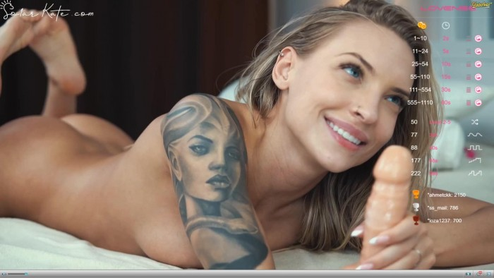 Solar Kate – Chaturbate – Afternoon Squirt [1080]