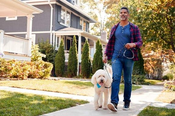 6- تبني حيوان أليف قد يرتفع نشاطك البدني إذا كان لديك حيوان أليف في المنزل، حيث تشير الدراسات إلى أن مالكي تلك الحيوانات يم