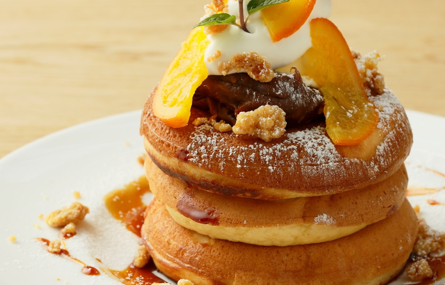 5 Fluffy Pancake Cafs in Osaka  All About Japan