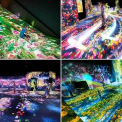 Kitchen Spoon Benches For Table Permanent Digital Art Museum To Open In Tokyo | All About ...