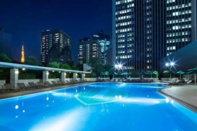 東京で激アツなナイトプールその3ANAインターコンチネンタルホテル東京