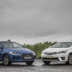 New Corolla Altis Vs Elantra Toyota Yaris Trd Sportivo Review Hyundai Petrol Mt