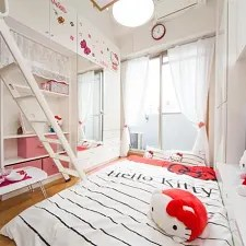 Rumah Apartemen 1 Bedroom Apartment With Kitty Near Namba