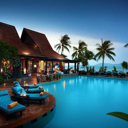Rumah Apartemen Mae Haad Beach View Resort Koh Phangan