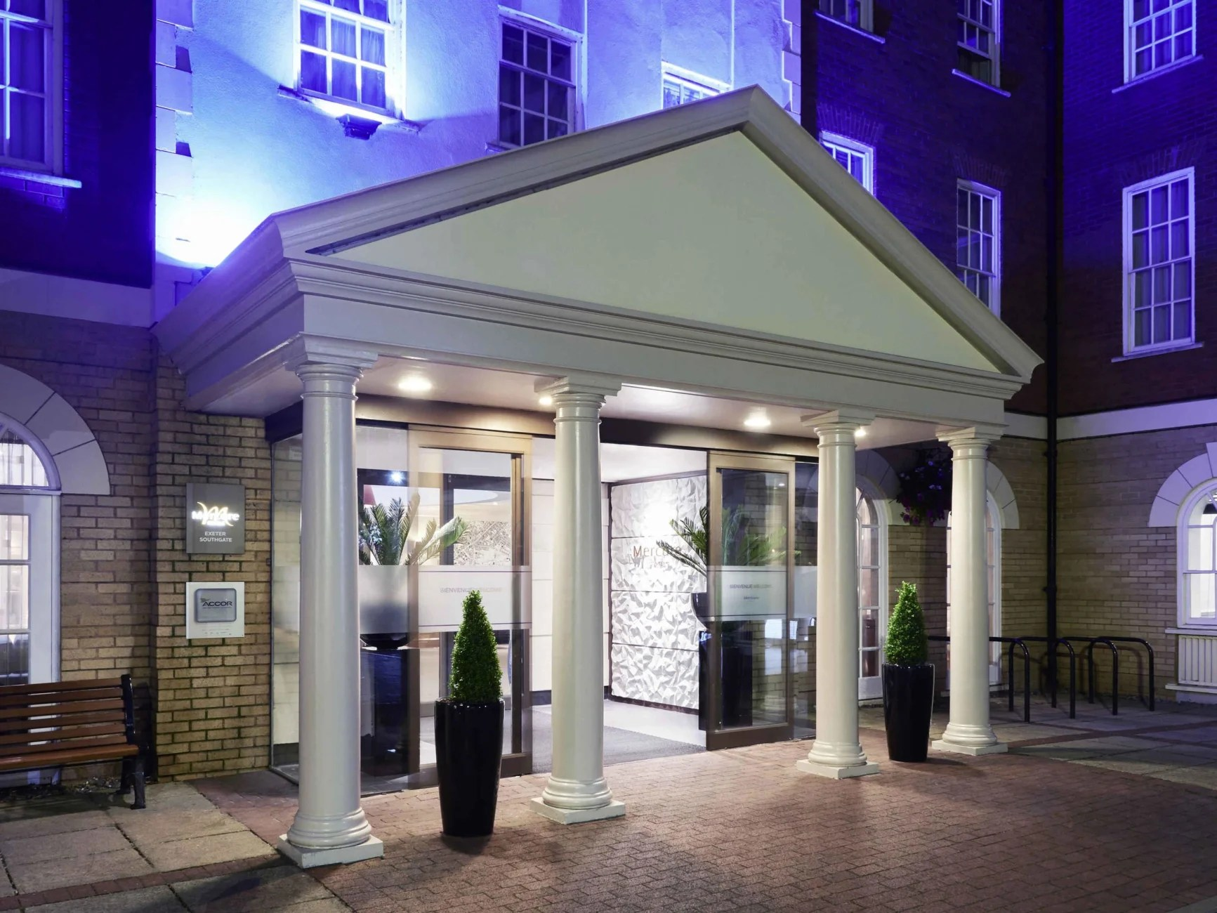 Hotel Mercure Exeter Southgate Hotel Exeter Trivago Com