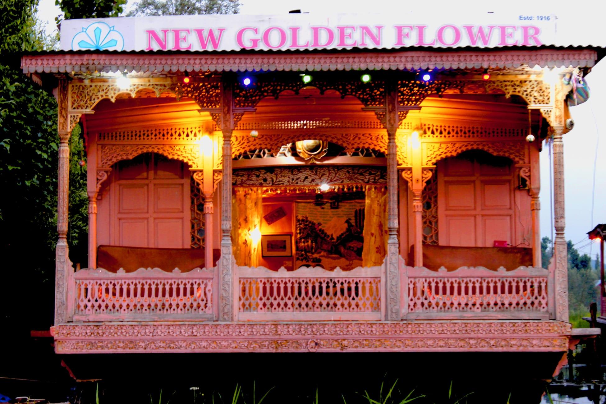 Hotel New Golden Flower Heritage Houseboat Srinagar