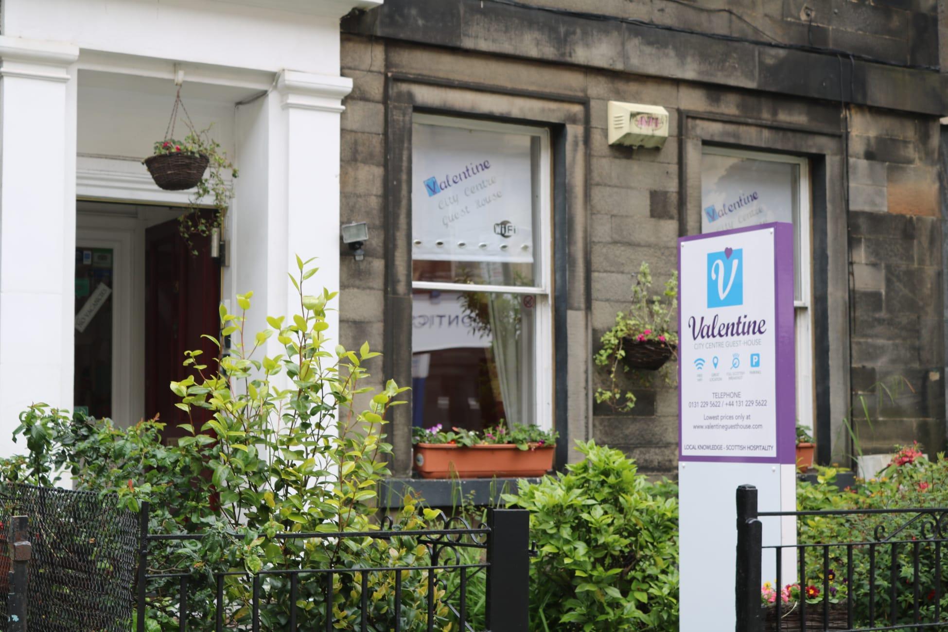 Guesthouse Valentine City Centre Guest House Edinburgh