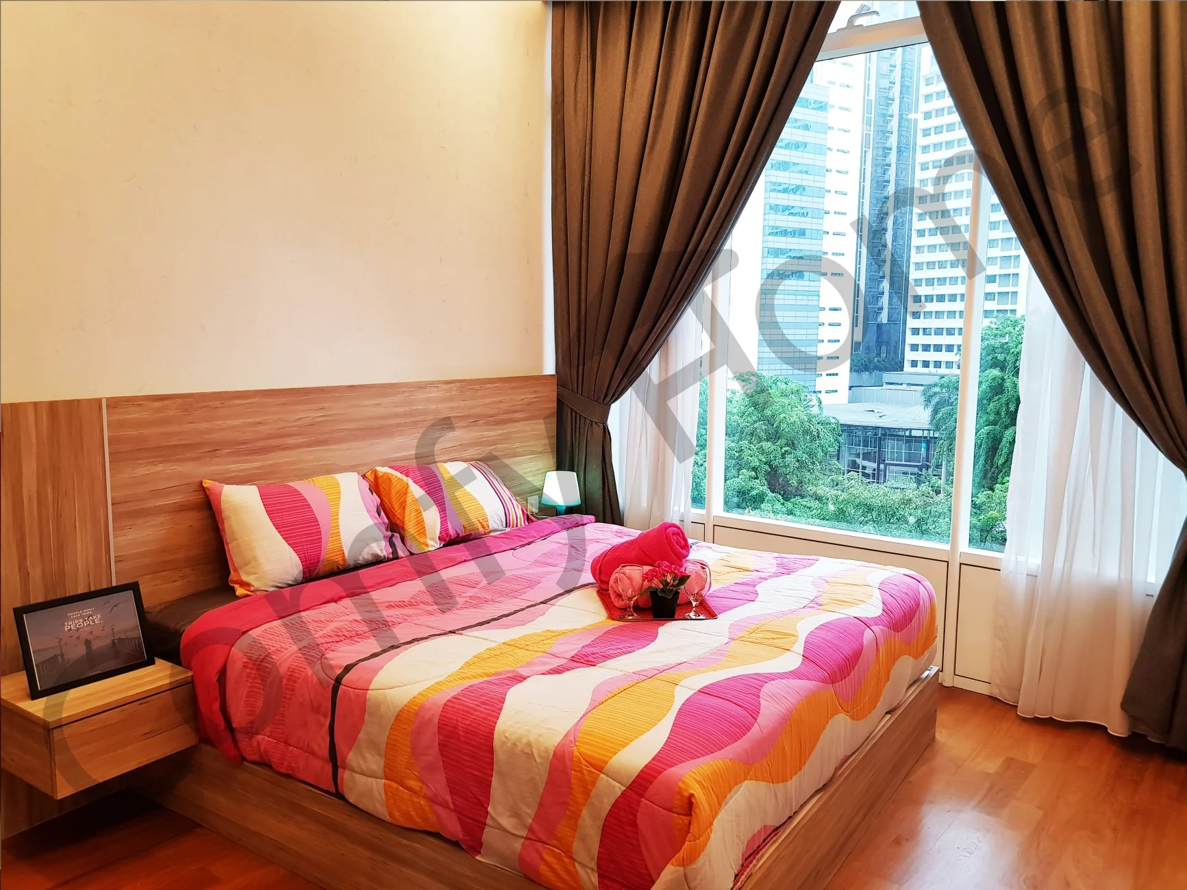 Rumah Apartemen 5 Star Luxury Apartment Near Klcc Kl