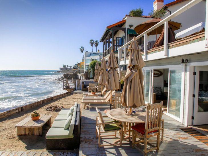 Shabby Chic Malibu Beach House - Ocean Level Winter Specials. Vacation  rental