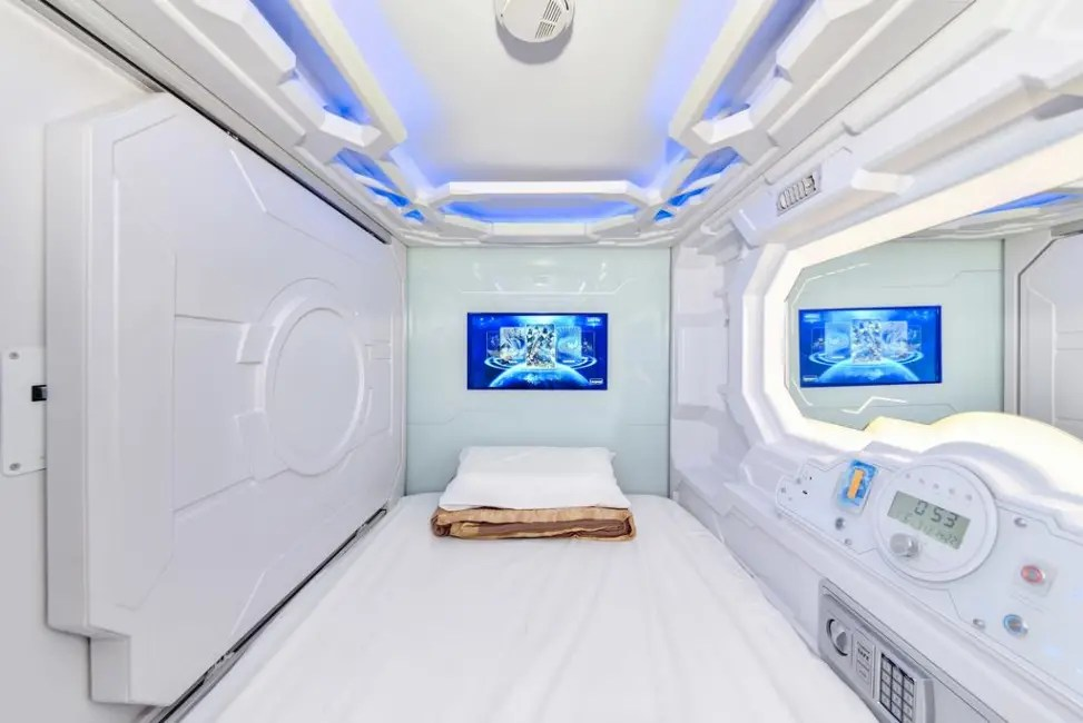 Hotel Space Q Capsule Sydney  trivagocomau