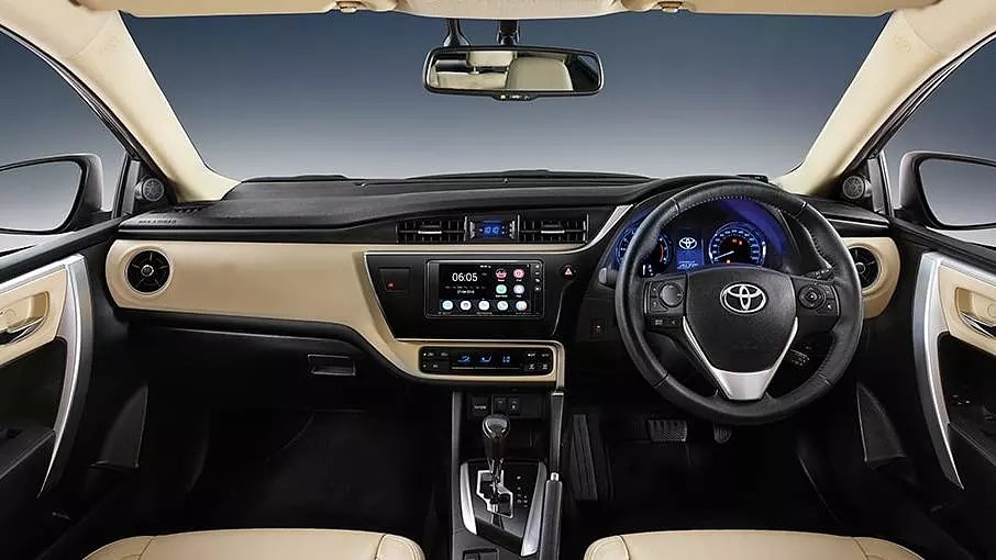 all new camry singapore spesifikasi grand veloz 2017 toyota corolla altis photo, interior image - carwale