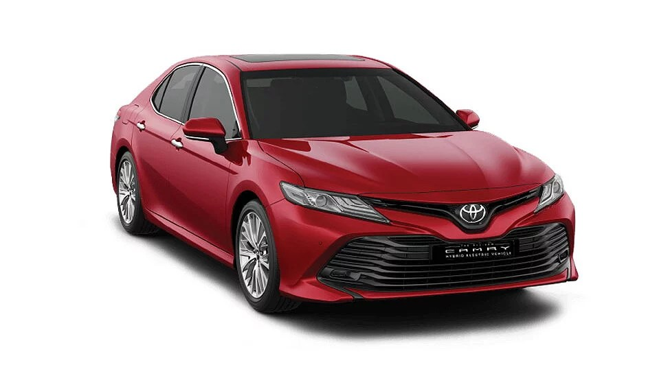 brand new toyota camry muscle grand avanza tampak belakang hybrid price gst rates features specs review carwale