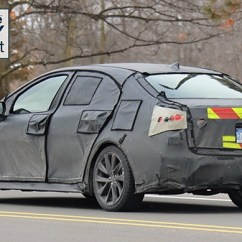 All New Corolla Altis 2020 Toyota Camry 2018 Thailand Spied Testing Carwale Inside However There Will Be A More Prominent Screen And Controls Intended To Elevate Perceived Quality Shortcoming On The Current Car