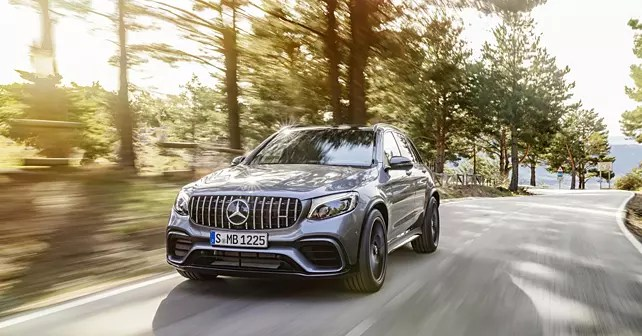 Mercedes announces prices for GLC 63 AMG SUV and coupe - CarWale