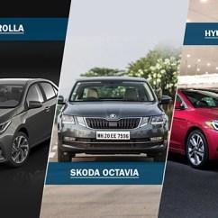 New Corolla Altis Vs Skoda Octavia Kijang Innova Facelift Petrol Shootout Hyundai Elantra Toyota
