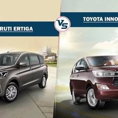 All New Kijang Innova Spec Harga Grand Avanza E 2016 Comparison 2018 Maruti Ertiga Vs Toyota Crysta Carwale