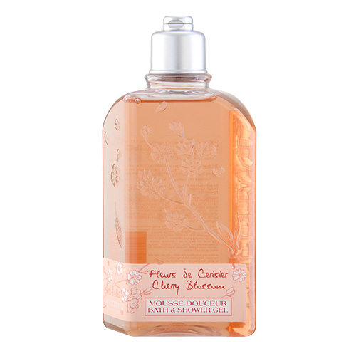 L'Occitane Cherry Blossom Bath & Shower Gel 8.4oz, 250ml