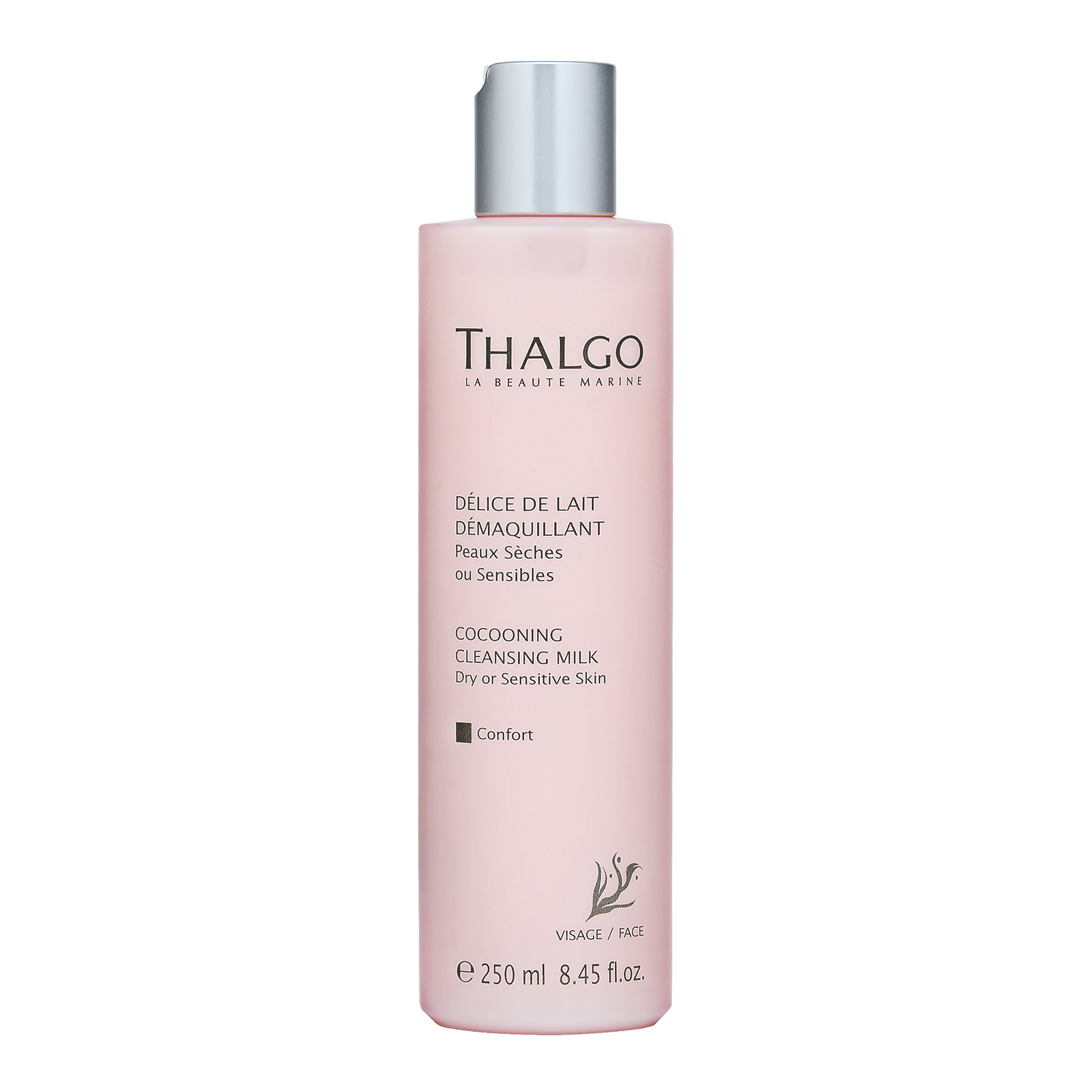 THALGO  Cocooning Cleansing Milk  (Dry or Sensitive Skin) 8.45oz, 250ml