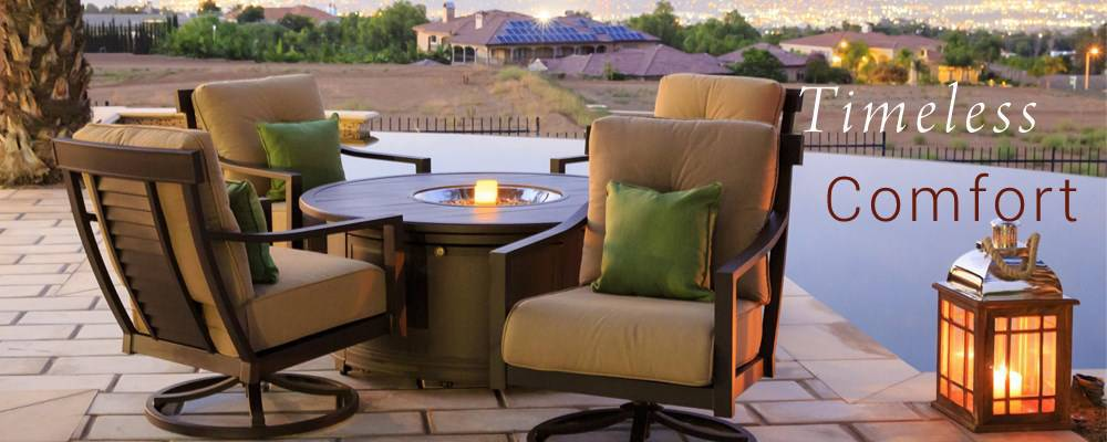 timeless comfortable patio furniture