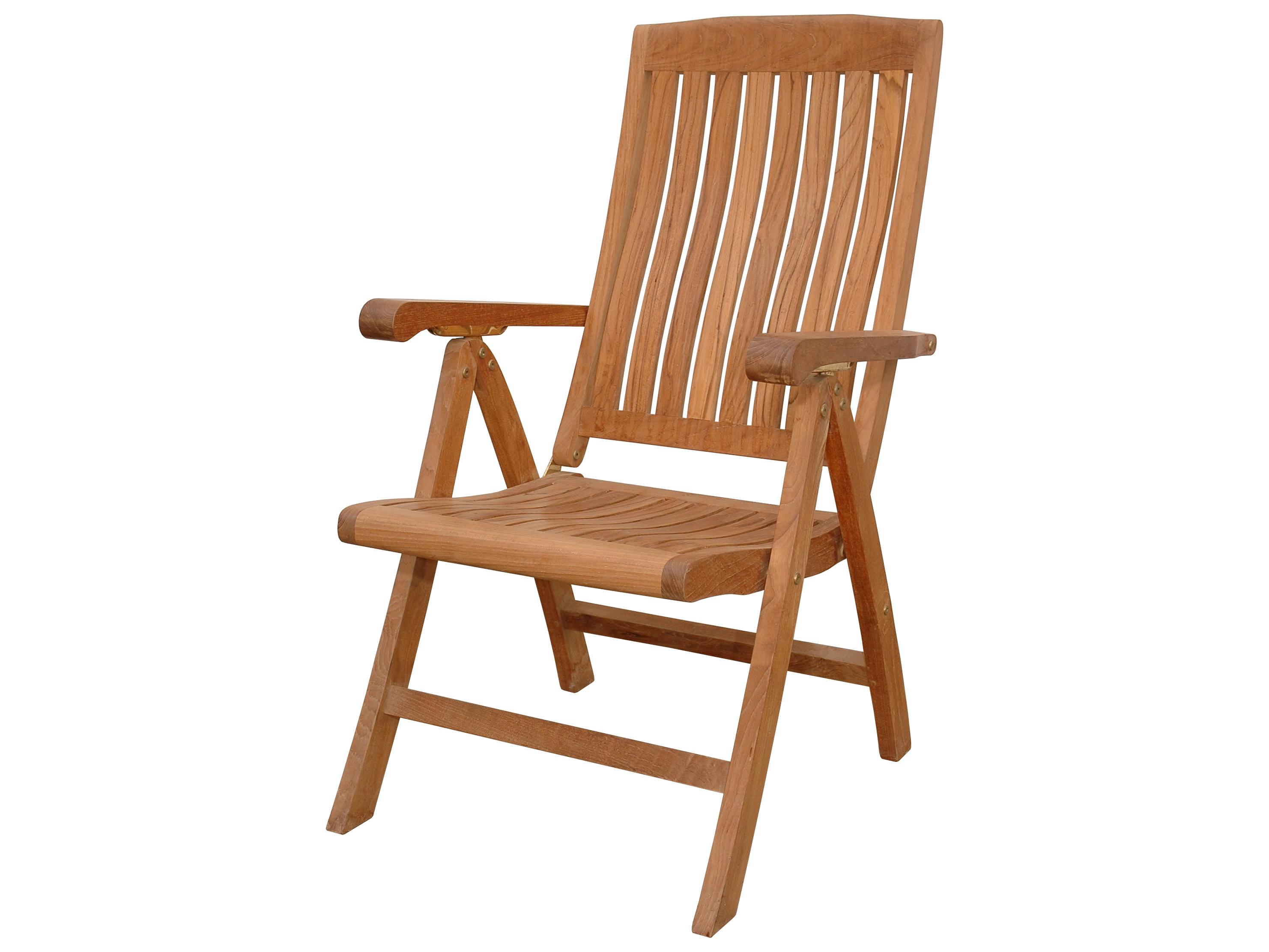 correct posture lounge chair steel leg caps anderson teak katana 5 position recliner armchair akchr120