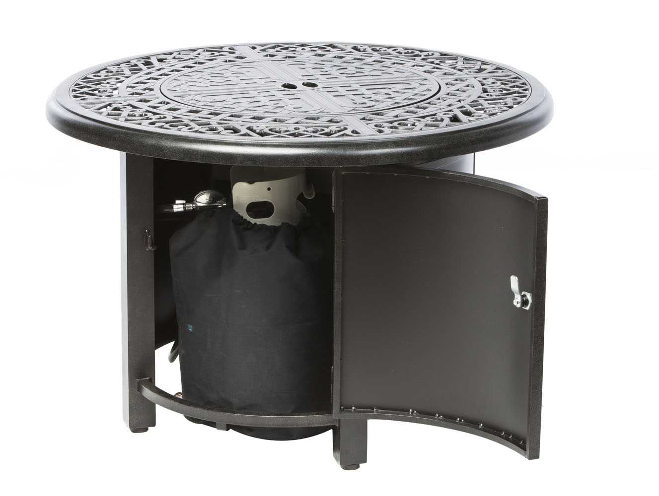 Alfresco Home Kinsale 36 Round Gas Fire Pit/Chat Table