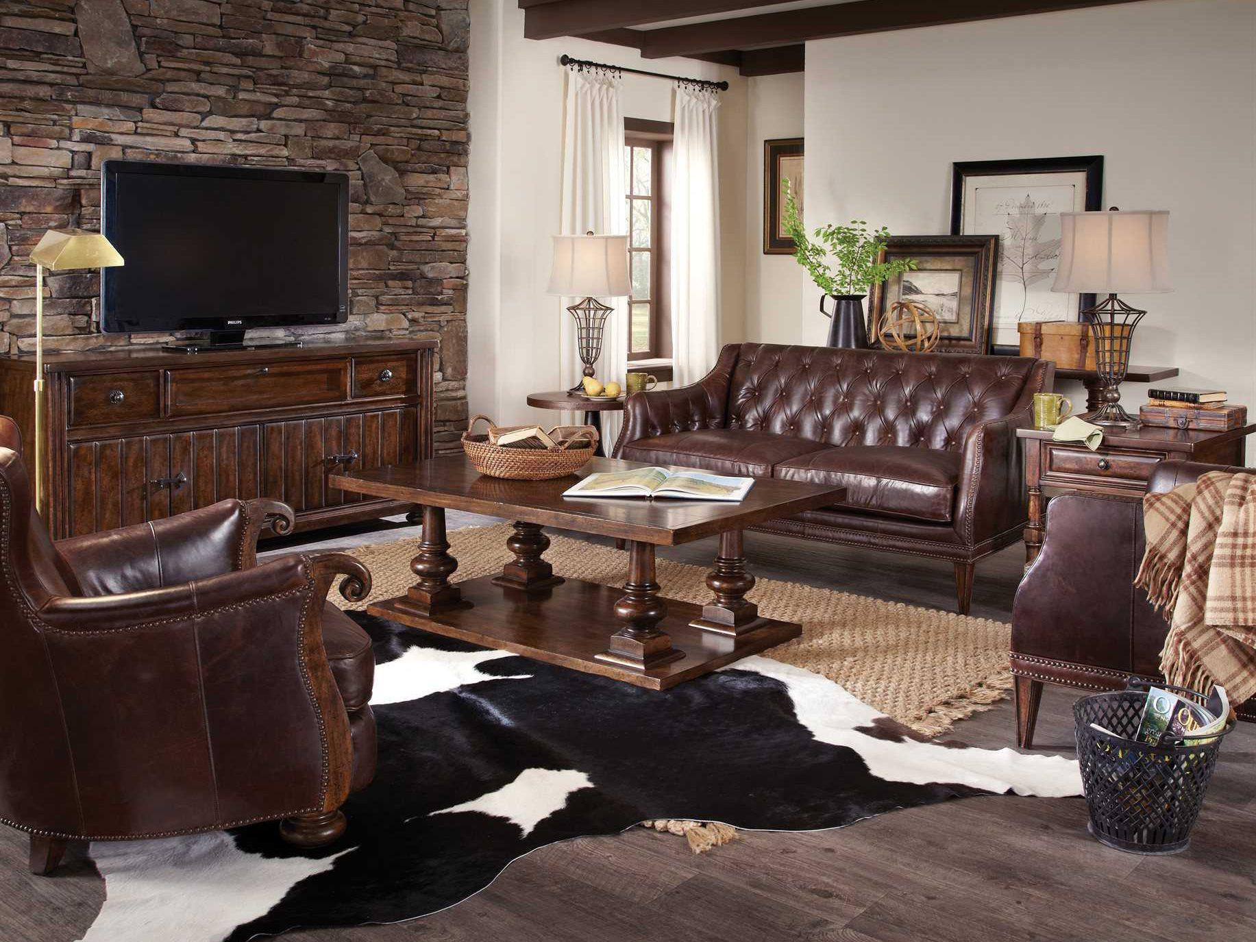ART Furniture Whiskey Oak Living Room Set AT2053012304SET