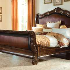 Valencia Black Recliner Leather Sofa Crate And Barrel Sleeper Reviews A R T Furniture Dark Oak California King Size