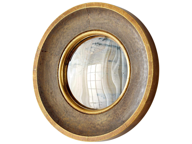 Cyan Design Bronte Brass 24'' Wide Round Wall Mirror