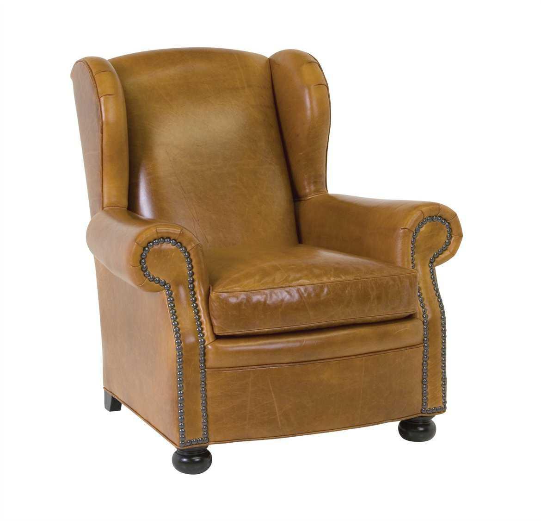 Classic Leather Cigar Club Chair  CL117761