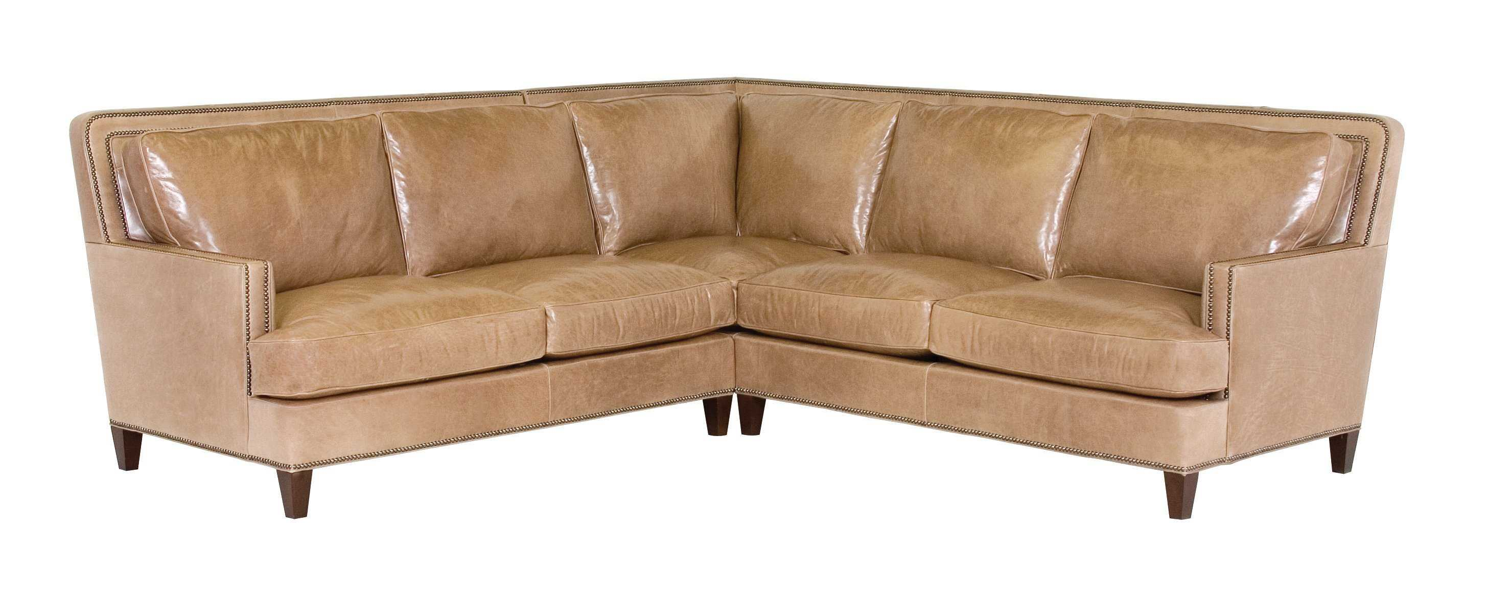 vintage leather sectional sofa l shaped with recliner classic palermo cl34418