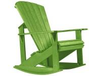 C.R. Plastic Generation Adirondack Rocking Chair   C04