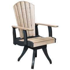 Plastic Swivel Chair Bedroom Comfortable C R Generation Dining Arm Crc13