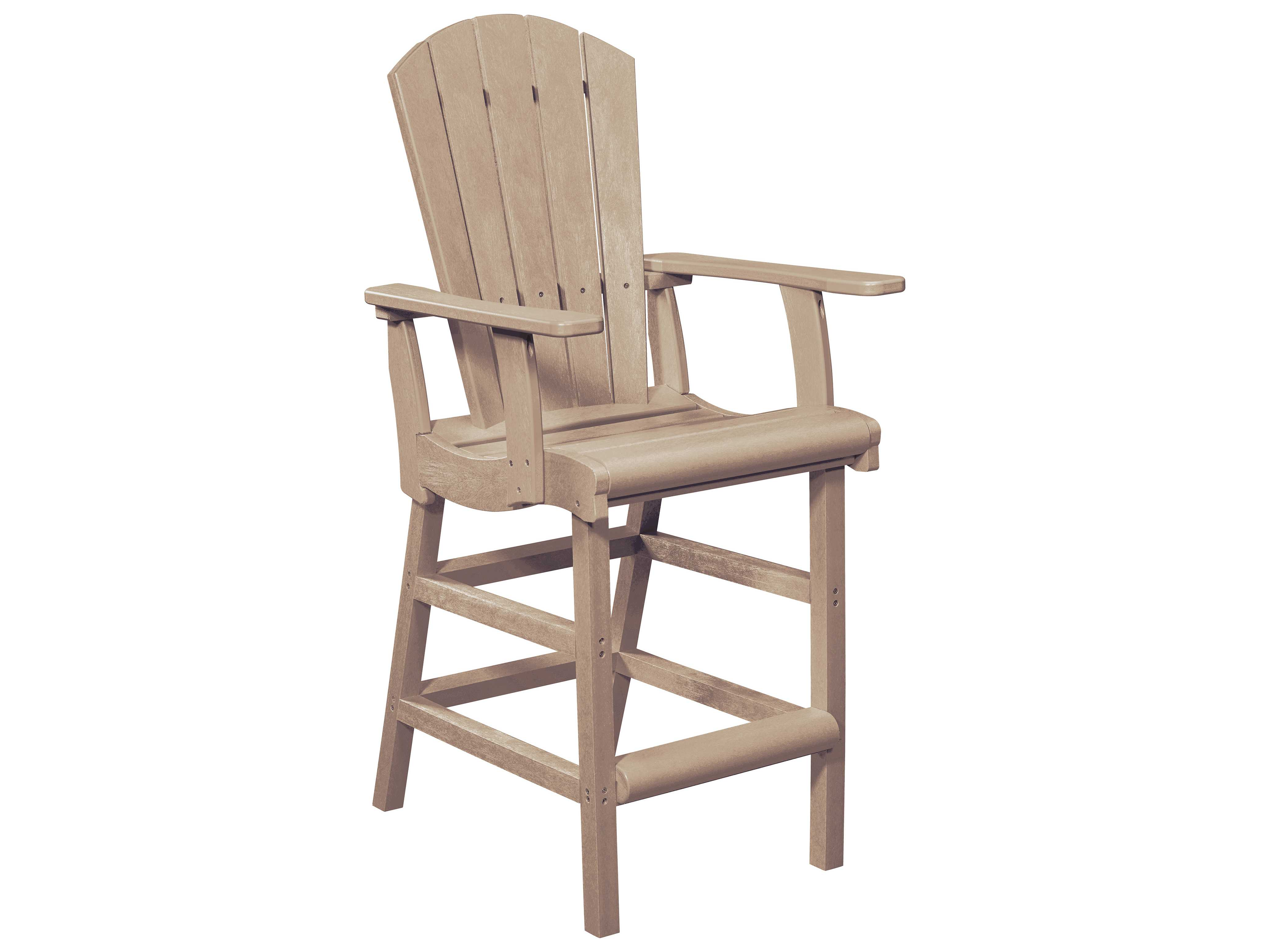 adirondack style dining chairs middy fishing chair accessories c r plastic generation recycled